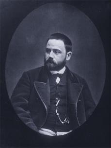 Etienne Carjat; Emile Zola; 1878; woodbury type