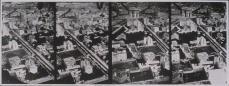 Félix Nadar; Aerial View of Etoile District of Paris; 1868