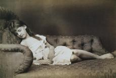 Lewis Carroll; Alexandra Kitchin; 1875; albumen print; 17 x 23 cm