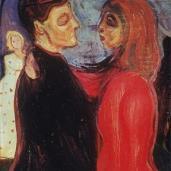Edvard Munch; Dance of Life; 1899-1900; oil on canvas; Nasjonalgalleriet (Norway)