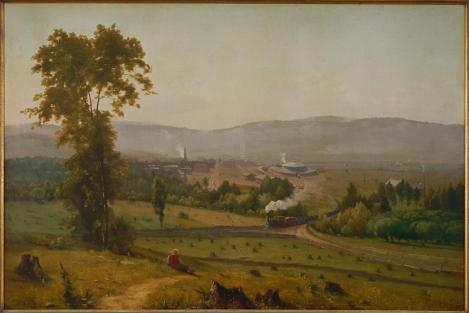 George Inness; The Lackawanna Valey; 1855; 33 7/8 x 50 3/16 inches