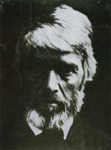 Julia Margaret Cameron; Thomas Carlyle; 1867; albumen print