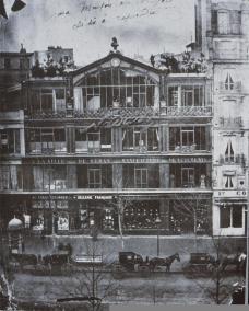 Félix Nadar; Nadar's Studio at 35 Blvd. des Capucines