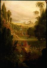 Thomas Cole; Expulsion from the Garden of Eden; 1828; oil on canvas; 100.96 x 138.43 cm; Museum of Fine Arts, Boston