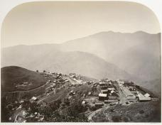 Carleton E. Watkins; The Town on the Hill, New Almaden; 1863; Albumen silver print from glass negative; The Metropolitan Museum of Art