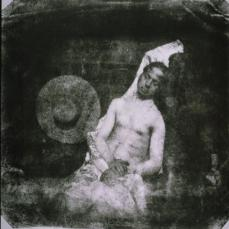 Hippolyte Bayard; Self-portrait as a Drowned Man; 1840; direct paper positive