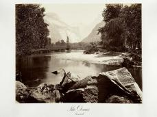 Carlton E. Watkins; The Domes, Yosemite; c.1872; albumen silver print from glass negative; The Metropolitan Museum of Art