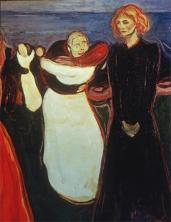 Edvard Munch; Dance of Life; 1899-1900; oil on canvas; Nasjonalgalleriet (Norway)