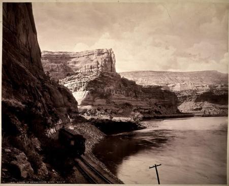 Wiliam Henry Jackson; Canon of Grand River, Utah; c.1885; albumen print; 43.2 x 54.0 cm; George Eastman House