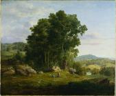 George Inness; The Wood Chopper; 1849; oil on canvas; 50.5 x 60.6 cm; The Cleveland Museum of Art