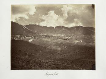 Carlton E. Watkins; Virginia City; 1875; albumen silver print from glass negative; The Metropolitan Museum of Art
