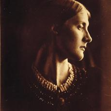 Julia Margaret Cameron; Mrs. Herbert Duckworth as Julia Jackson; 1865-66; albumen print; 34 x 24.4 cm; George Eastman House, Rochester, NY