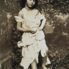 Lewis Caroll (Charles Lutwidge Dodgson); Alice Liddell as a Beggar Girl; c.1859; albumen print