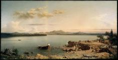 Martin Johnson Heade; Lake George; 1862; oil on canvas; 66.04 x 125.41 cm; Museum of Fine Arts, Boston