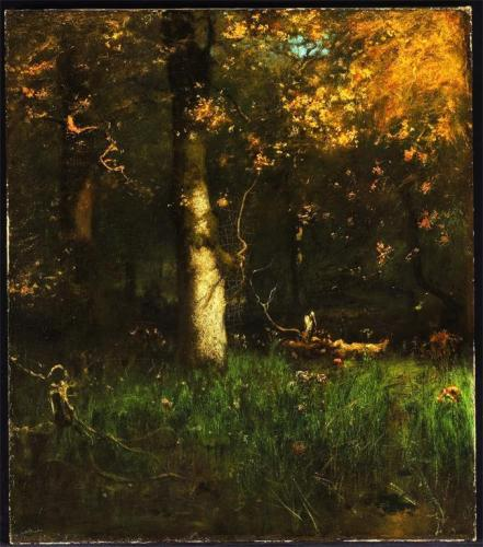 George Inness; The Home of the Heron; 1891; oil on canvas; 107 x 94 cm