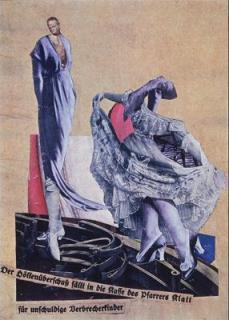 Hannah Höch; Dada Dance; 1922; collage; 32 x 23 cm