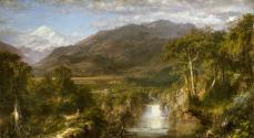 Frederic Edwin Church; Heart of the Andes; 1859; oil on canvas; 168 x 302.9 cm; The Metropolitan Museum of Art