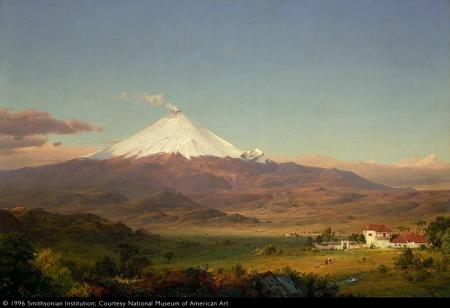 Frederic Edwin Church; Cotopaxi; 1855; oil on canvas; 71.1 x 106.8 cm; Smithsonian American Art Museum