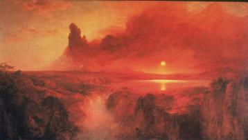 Frederic Edwin Church; Cotopaxi; 1862; oil on canvas