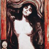 Edvard Munch; Madonna; 1895; woodcut; Art Institute of Chicago