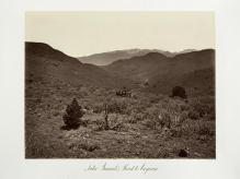Carlton E. Watkins; Sutro Tunnel's Road to Virginia City; 1875; albumen silver print from glass negative; The Metropolitan Museum of Art