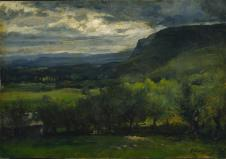 George Inness; Landscape; c.1878; 46.5 x 60.5 cm; The Cleveland Museum of Art