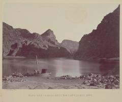 Timothy O'Sullivan; Black Canyon, Colorado River; 1871; albumen print