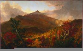 Thomas Cole; View of Shroon Mountain, Essex County, New York, After a Storm; 1838; oil on canvas; The Cleveland Museum of Art