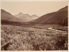 Timothy O'Sullivan; Upper Beaver River, Wyoming Territory; 1869; albumen print; 19.8 x 26.9 cm; George Eastman House