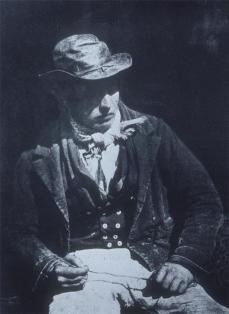 David Octavius Hill; Redding the Line; c.1846; calotype; Scottish National Portrait Gallery