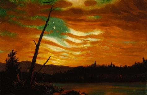 Frederic Edwin Church; Our Banner in the Sky; 1861; oil; The Terra Foundation for American Art