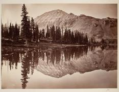 Timothy O'Sullivan; Ulintah Mountains; 1869; albumen print; 19.8 x 26.9 cm; George Eastman House