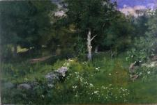 George Inness; Summer Foliage; 1883; oil on canvas; 76.2 x 113.03 cm; Dallas Museum of Art