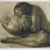 Käthe Kollwitz; Woman with Dead Child; 1903; Kunsthalle, Bremen, Germany