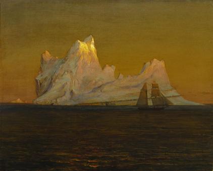 Frederic Edwin Church; The Iceberg; c.1875; oil on canvas; The Terra Foundation for American Art