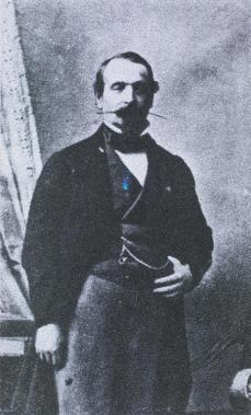 André Adolphe Eugène Disdéri; Napoleon III, Carte-de-visite; 1854; photograph