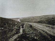 Roger Fenton; The Valley of the Shadow of Death; 1855; salted paper print from collodion negative; 28.4 x 35.9 cm