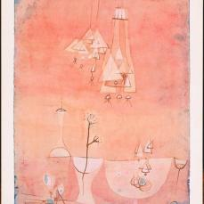 Paul Klee; Botanical Laboratory; 1928; gouache, watercolor and ink on paper mounted on cardboard; 39.37 x 26.9875 cm; The Phillips Collection, Washington DC