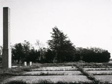 Robert Adams; Abandoned Foundations, Ontario; 1986