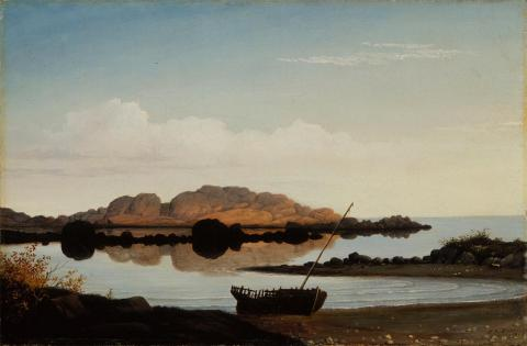 Fitz Hugh Lane; Brace's Rock, Brace's Cove; 1864; oil on canvas; Terra Foundation for American Art