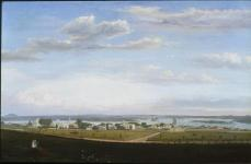 Fitz Hugh Lane; View of Castine from Fort George; 1856; oil on canvas; Joslyn Art Museum
