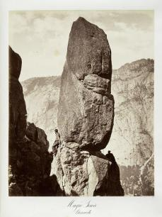 Carlton E. Watkins; Magic Tower, Yosemite; c.1872; The Metropolitan Museum of Art