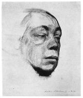 Käthe Kollwitz; Self-Portrait; 1916; charcoal on paper; 35.5 x 30.5 cm