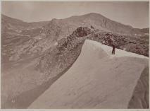 Timothy O'Sullivan; August Snowbank, East Humboldt Mountains; 1868; albumen print; 19.6 x 26.9 cm; George Eastman House