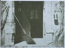 William Henry Fox Talbot; Open Door; 1844; salt print from calotype negative; 14.4 x 19.5 cm; National Museum of Photography, Film, and Television (Great Britain)