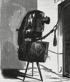 Félix Nadar; Photography Asking for Just a Little Place in the Exhibition of Fine Arts; 1855; engraving