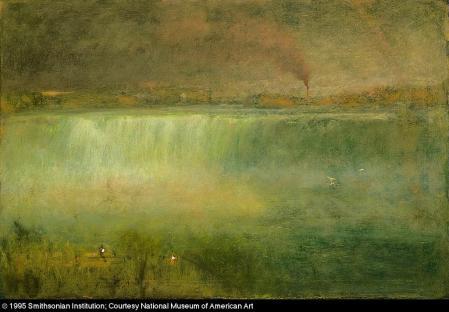 George Inness; Niagara; 1889; oil on canvas; 76 x 114.3 cm; Smithsonian American Art Museum
