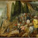 Pieter Bruegel; Conversion of Saint Paul; 1567; oil on oak wood; 108 x 156 cm; Kunsthistorisches Museum Vienna, Austria