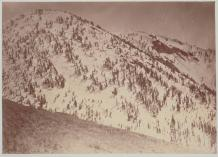 Timothy O'Sullivan; Snow Peaks, Bull Run Mining District, Nevada; 1871; albumen print; 20.4 x 28.3 cm; George Eastman House