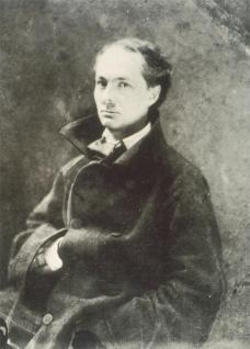 Félix Nadar; Charles Baudelaire; 1856